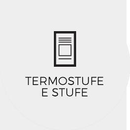 Linea stufe e termostufe bottone off
